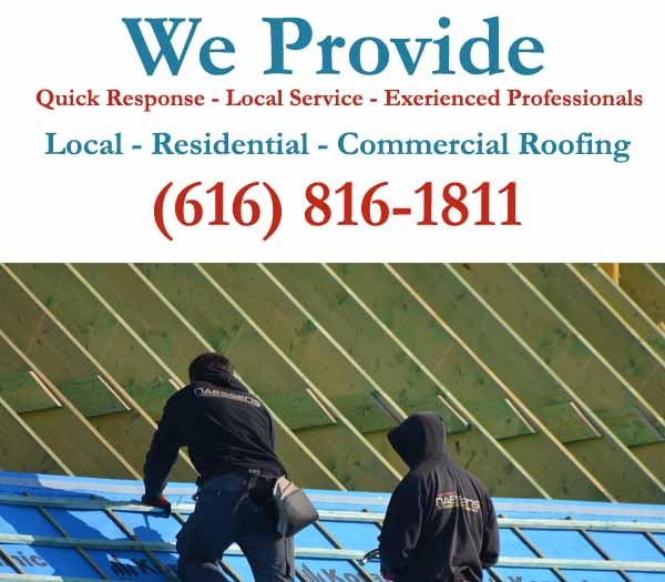Residential, Commercial, Emergency and Mobile Home Roof Repair Contractors Serving Grand Rapids, MI
